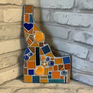 Idaho State Mosaic Art Wall Hanging Decorative